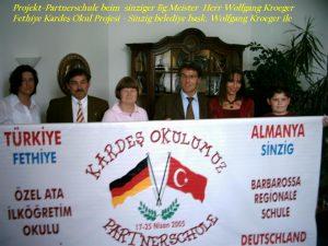 111Partnerschule Türkei Bg. Meister H.Kroeger