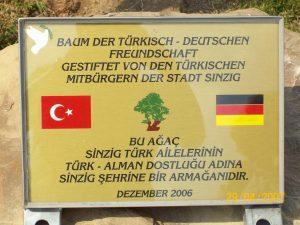 Freundschaftsbaum 2007